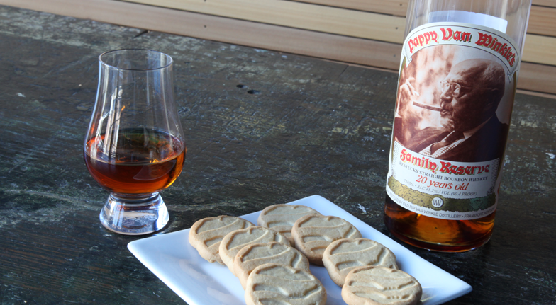 And girl scout cookies shortbreads and pappy van winkle 20 year